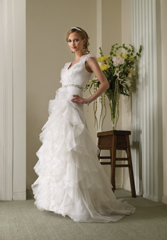 birnbaum bullock wedding dress