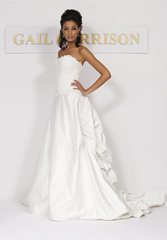 gail garrison wedding dress