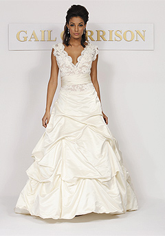 gail garrison wedding dress