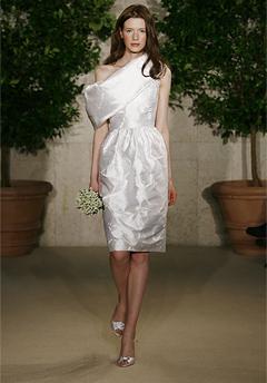oscar de la renta wedding dress