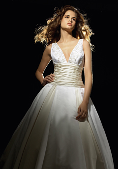 paula varsalona wedding dress