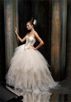 st. pucchi wedding dress