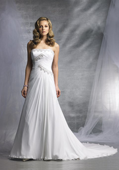 james clifford wedding dress