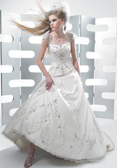 moonlight wedding dress