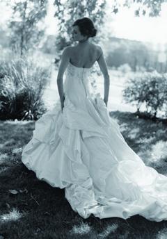 justina mccaffrey wedding dress
